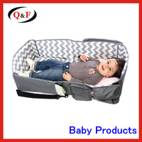 Easy carry portable baby travel Diaper Bag Baby Travel Bed