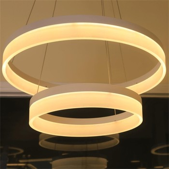 HOT sale new led modern ring pendant light fixture,hanging dining room acrylic pendant light for hotel