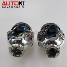 Autoki Hot Sale Update Stanley HID bi-xenon projector D2S D2H headlight Retrofit bixenon Lens For Car