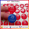 custom round gloss weatherproof poly polyurethane gel strong 3M adhesive 3d clear epoxy resin dome sticker