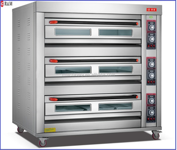 Industrial 400 Degrees Bread Baking Electric Oven Roti Making Machine For Sale