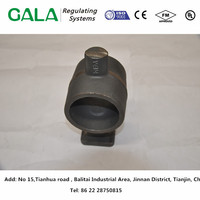 high quality cast iron ball valve body of oil