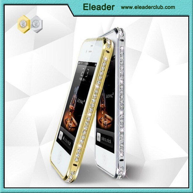 Diamond bumper frame case for iphone 5 5S