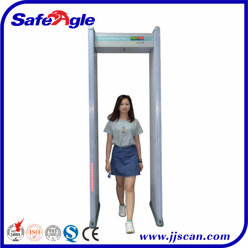 Walk Through Security Gates Body Scanning Machine anti-theft metal detector