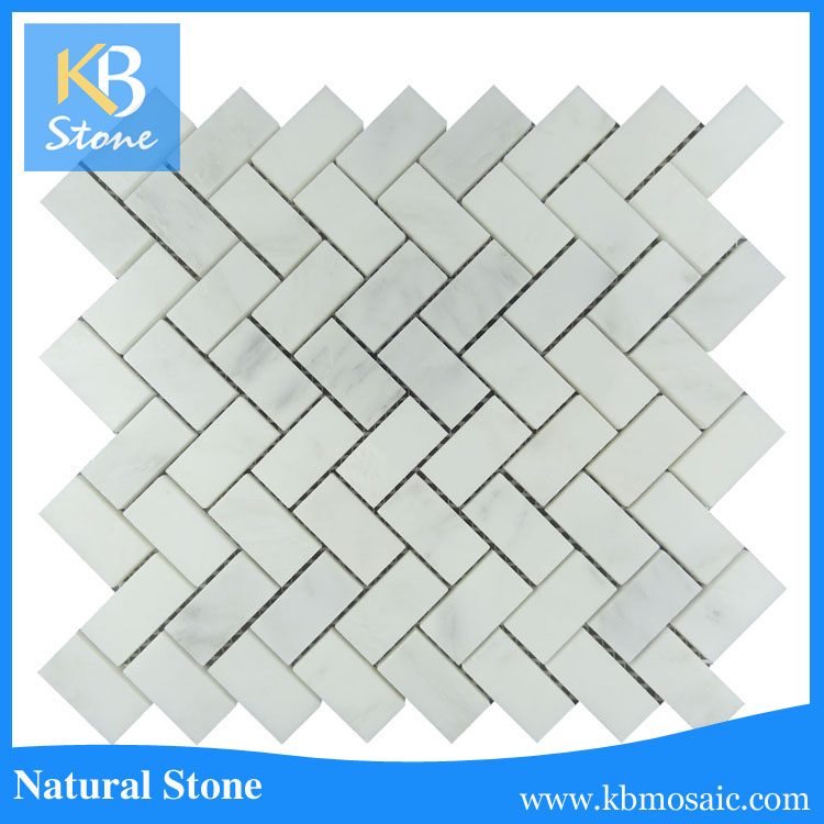 hot sale & high quality 12'' X 24''white marble with certificate