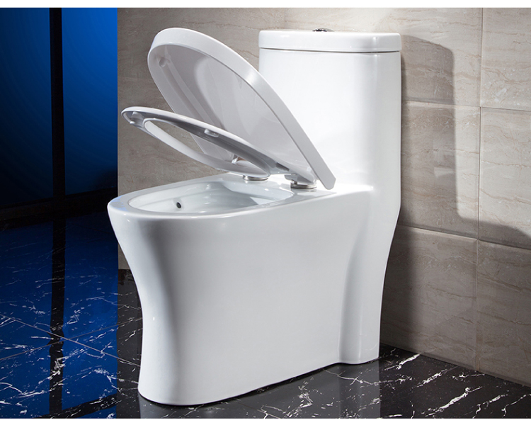 Popular Boothroom Siphonic one piece WC dual flush Toilet