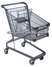 Germany style shopping trolley/supermarket cart (150L)