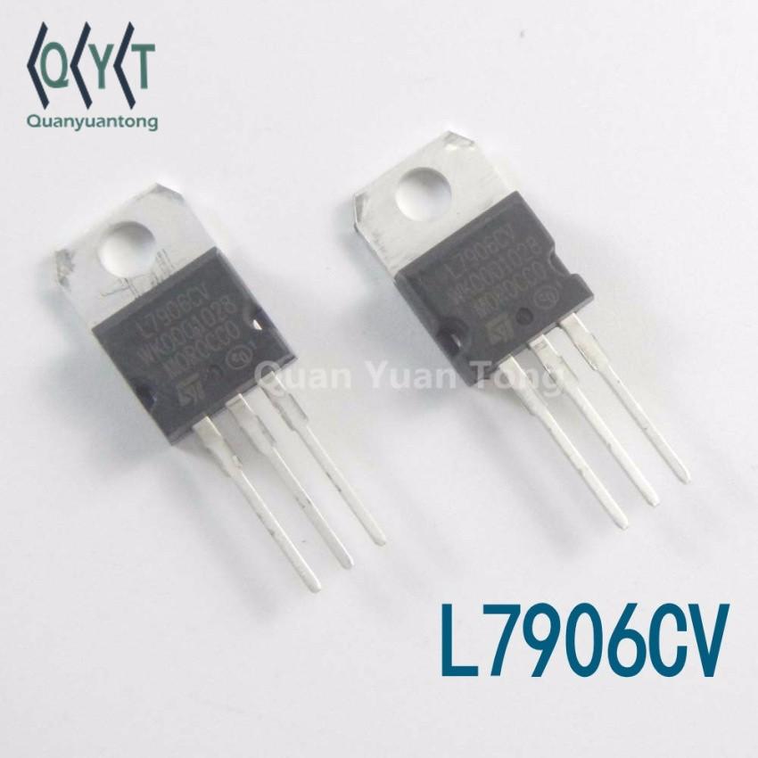 TO-220 L7906CV Negative Linear Voltage Regulator 6V 1.5A