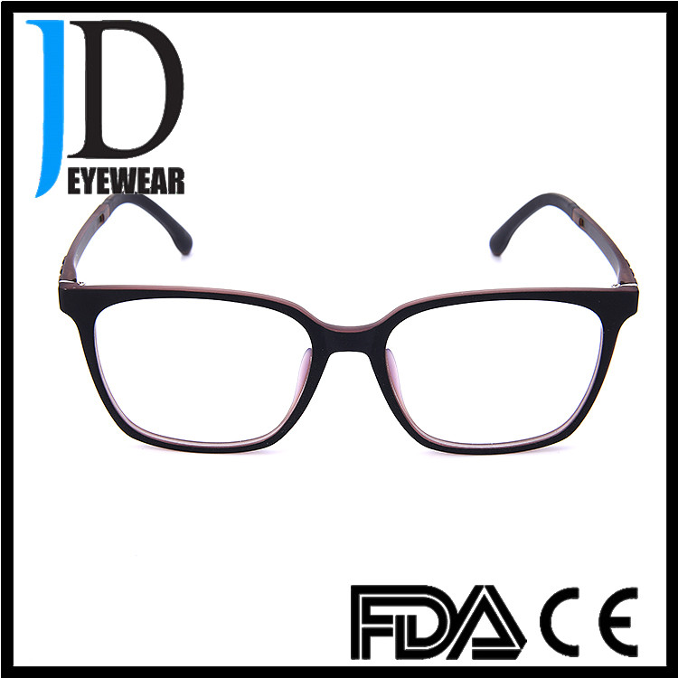 2017 hot selling eyeglasses unisex classic square frame optical eyewear