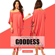 Dress spring summer 2016 kaftan beach bohemian dresses for women HGS1415