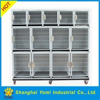 New design China iron dog cage double dog kennel