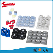 custom made rubber button Silicone Keypad with Carbon Pill