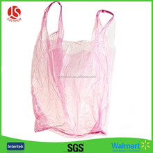 PE resealable Plastic Shopping T-shirt Bag