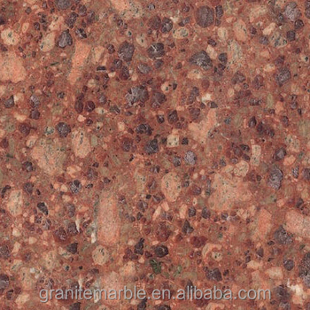 Red cuckoo granite tile for granite floor and skirting with low price