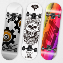 Wholesale park bearings long board wooden skateboard