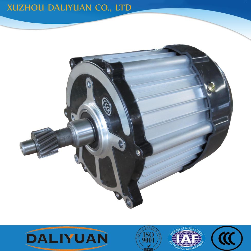 Brushless electric motor 48v 7kw 650w 1500w for tricycle for Brushless dc motor suppliers