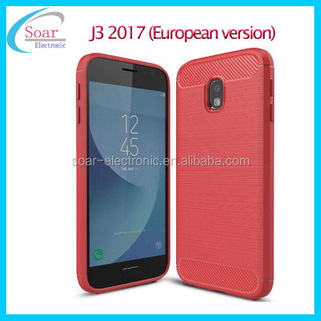 2017 newest carbon fiber TPU PC protective mobile phone case For Samsung Galaxy J330 2017 case