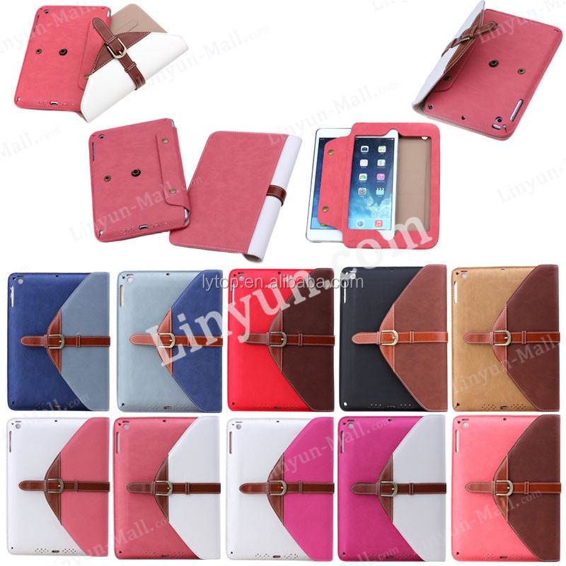 Handbag Wallet Flip PU Leather Case For iPad Mini 3