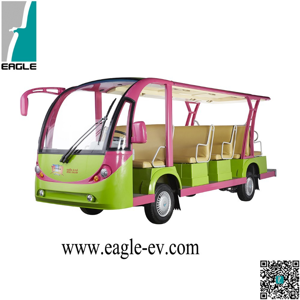 14 passenger electric resort bus / sightseeing bus supplier-EG6158K