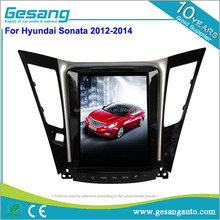 Super big full touch screen Double din android car dvd player with reversing camera for HYUNDAI SONATA 2012-2014