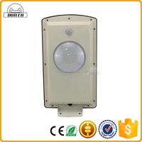 8w integrated outdoor ip65 solar wind dc 12v 24v street light