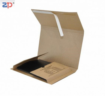 Corrugated cardboard books wrap mailers