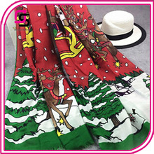 Winter warm new fashionable Christmas wholesale scarf