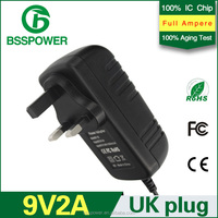 9v 2a power adapter 2000mA adaptor digital camera tablet PC charger