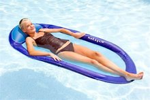 inflatable mesh lounge/lounge floater/beach mattress