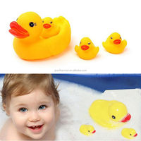 Baby Kids Bathing Toys Yellow Natural