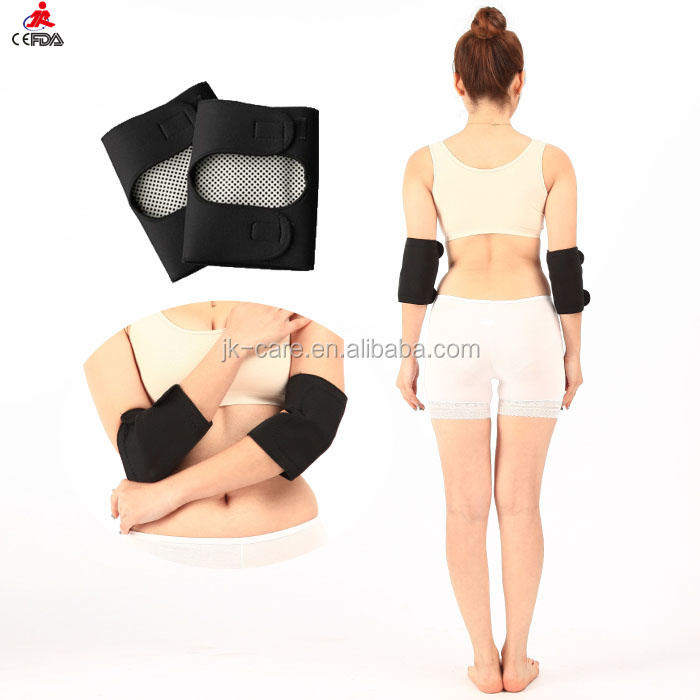 OEM service Neoprene Elbow Support brace / magnetic arm sleeve /arm guard protector