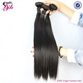 silky natural straight human hair indian hair weaving no shedding no tangle