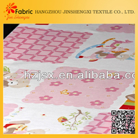 Colorul printed cheap plain cotton beddings fabric for pillows