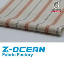 yarn-dyed stripe fabrics cotton linen blending fabric