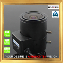 "1.3 mega pixel 1/3"" 3-8mm F1.0 for surveillance indoor camera DC auto iris CS mount all metal lens"