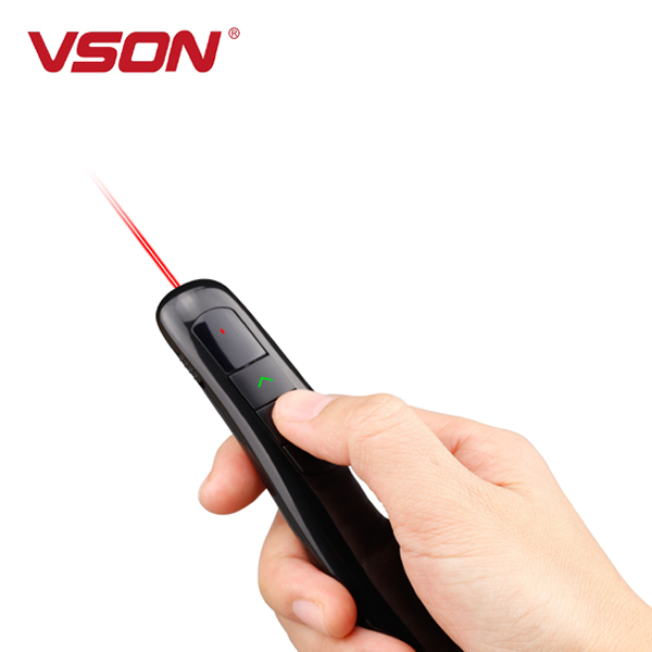 Wireless Multimedia Presenter with Laser Pointer for Projector