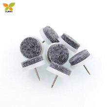 Table chair sofa furniture leg protectors nail-on felt glides