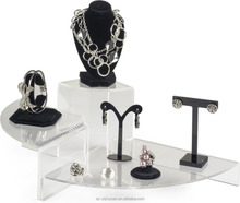 Upgraded Version Acrylic jewelry Display stand with multilayer design