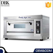 DBK industrial commercial 1 2 deck restaurant oem electric used baking pizza ovens for sale