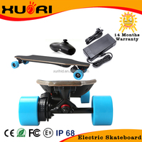 High quality 4 wheel electric skateboard ,electric longboard skateboard with remote controller,longboard deck,hot longboard
