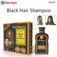 professional private label herbal noni make hair black shampoo 25ml sachet