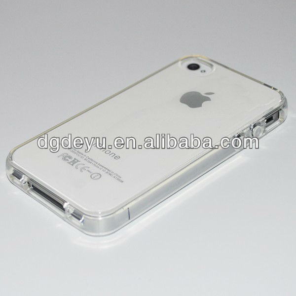 Clear ultra crystal case for iPhone