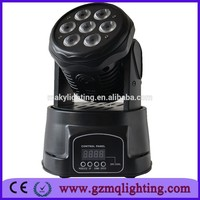 Disco Light 7*10W led stage moving head wash light quad 4-1
