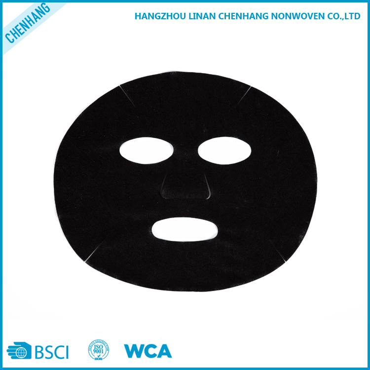 Gold Supplier China Non-woven Disposable Bamboo Charcoal Fiber Cosmetic Facial Mask Sheet