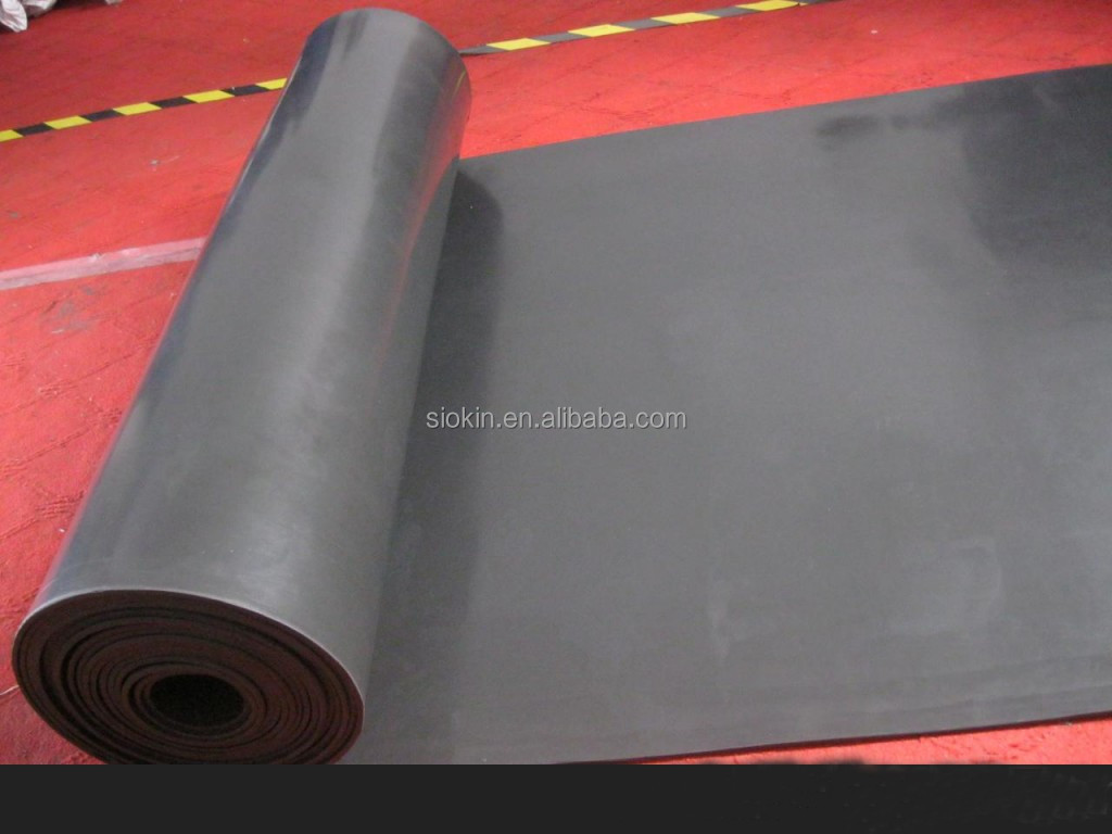 Best quality industrial orange silicone rubber sheet