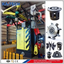 Q37 series hook type shot blast machine for auto parts cleaning with CE&ISO