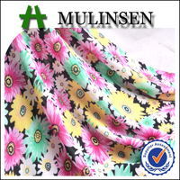 Mulinsen Textile Printed Rayon Spandex Fabric Wholesale Used Clothing