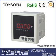 voltmeter display led voltage and current meter panel meter