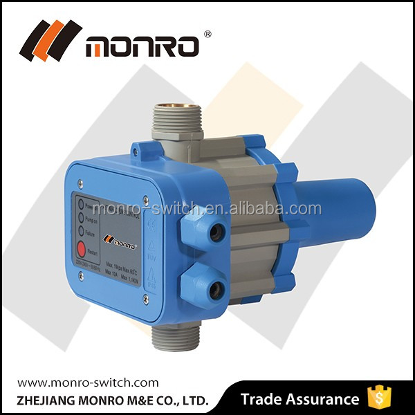0141 zhejiang monro regulator adjustable electric manual pressure switch for water pump EPC-1