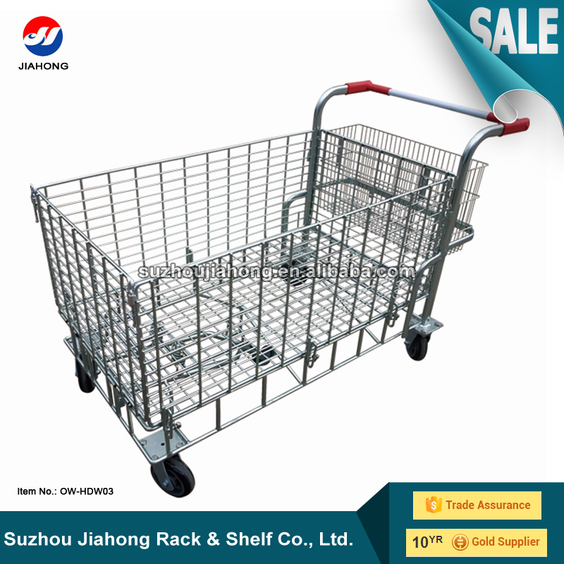 Warehouse Cargo Storage Logistic Trolley Cart